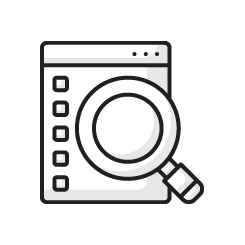 Delinquent Tax Property Search Icon