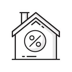 Tax Extension & Rates Icon